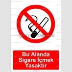 GI 2074 - Bu alanda sigara içmek yasaktır