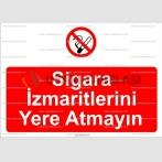 GI 2084 - Sigara izmaritlerini yere atmayın