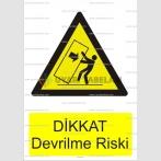 GI 1027 - Dikkat devrilme riski
