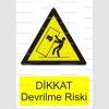GI1027 - Dikkat devrilme riski
