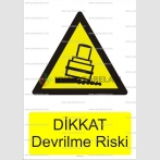 GI 1029 - Dikkat devrilme riski