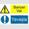 AYT4006 - Bariyer var, Yavaşla