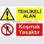 AYT4007 - Tehlikeli alan, koşmak yasaktır