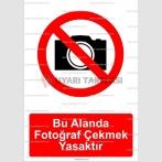 GI 2052 - Bu alanda fotoğraf çekmek yasaktır