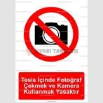 GI 2057 - Tesis içinde fotoğraf çekmek ve kamera kullanmak yasaktır