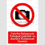 GI 2060 - Fabrika sahasında fotoğraf çekmek ve kamera kullanmak yasaktır