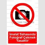 GI 2064 - İmalat sahasında fotoğraf çekmek yasaktır