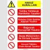 KT4108 - Havuz kuralları tabelası