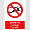 KT2040-Şnorkelle dalmak yasaktır