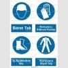KKD4000 - Baret, koruyucu eldiven, iş ayakkabısı, koruyucu giysi