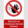 GI5019 - Bonesiz ve önlüksüz girmek yasaktır