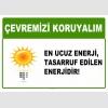 AT1018 - Çevremizi koruyalım, En ucuz enerji, tasarruf edilen enerjidir