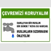 AT1022 - Çevremizi koruyalım, Damlayan bir musluk 1 günde 7 kova su harcar, Muslukların sızdırmasını önleyelim