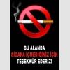 AT1059 - Bu Alanda Sigara İçmediğiniz İçin Teşekkür Ederiz