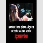 AT 1071 - Hamile İken Sigara İçmek Bebeğe Zarar Verir, İçmeyin