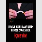 AT 1072 - Hamile İken Sigara İçmek Bebeğe Zarar Verir, İçmeyin