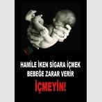 AT 1073 - Hamile İken Sigara İçmek Bebeğe Zarar Verir, İçmeyin