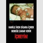 AT 1075 - Hamile İken Sigara İçmek Bebeğe Zarar Verir, İçmeyin
