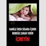 AT 1076 - Hamile İken Sigara İçmek Bebeğe Zarar Verir, İçmeyin