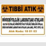A 180103-3 - Mikrobiyolojik Laboratuar Atıkları