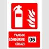 AT1144 - 5 Nolu Yangın Söndürme Cihazı