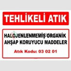 A 030201 - Halojenlenmemiş organik ahşap koruyucu maddeler