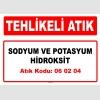 A060204 - Sodyum ve potasyum hidroksit