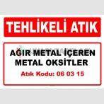 A 060315 - Ağır metal içeren metal oksitler