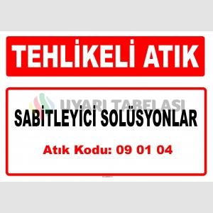 A 090104 - Sabitleyici solüsyonlar