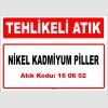 A160602 - Nikel kadmiyum piller
