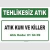 A010409 - Atık kum ve killer