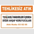 MA 030205 - Tehlikeli maddeler içeren diğer ahşap koruyucuları