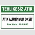 A100305 - Atık alüminyum oksit