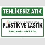 A191204 - Plastik ve lastik