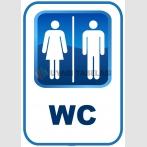 AT1199 - Bay Bayan WC Tabelası