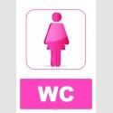 AT1229 - Kız Çocuk WC Tabelası