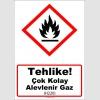 GHS1016 - Tehlike, Çok Kolay Alevlenir Gaz (H220)
