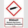 GHS1020 - Dikkat, Basınçlı gaz içerir, ısıtıldığında patlayabilir (H280)
