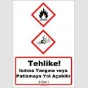 GHS1028 - Tehlike, ısıtma yangına veya patlamaya yol açabilir (H241)