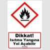 GHS1030 - Dikkat, ısıtma yangına yol açabilir (H242)