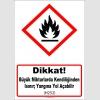 GHS1033 - Dikkat, Büyük miktarlarda kendiliğinden ısınır, yangına yol açabilir (H252)
