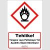 GHS1036 - Tehlike, Yangına veya patlamaya yol açabilir, güçlü oksitleyici (H271)