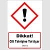 GHS1043 - Dikkat, Cilt Tahrişine Yol Açar (H315)