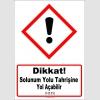 GHS1054 - Dikkat, Solunum yolu tahrişine yol açabilir (H335)