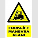 AT 1245 - Forklift Manevra Alanı