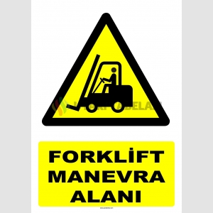 AT1245 - Forklift Manevra Alanı