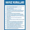 AT1279 -  Havuz Kuralları
