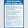 AT1277 -  Açık ve Kapalı Havuz Kuralları