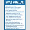 AT1280 -  Havuz Kuralları