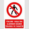 AT1403 - Yükleme-Boşaltma Alanından Geçmek Tehlikeli ve Yasaktır